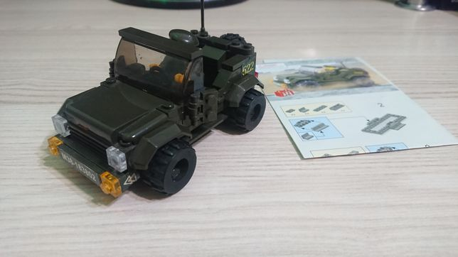 Lego Лего Джип Армія Внедорожник Воєнний Военний