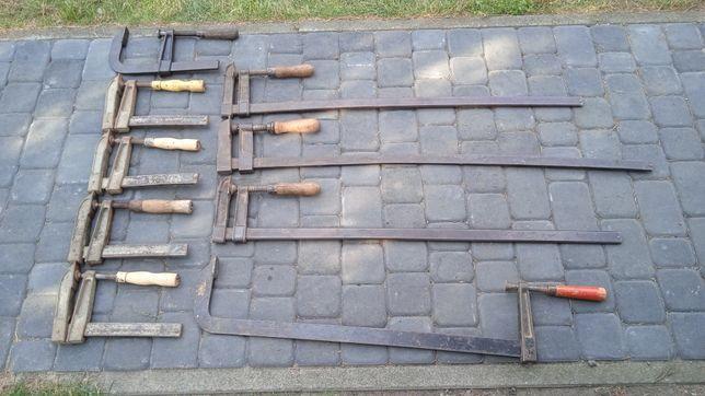 9x Ścisk stolarski ściski stolarskie