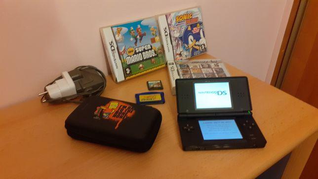 Nintendo DS Lite + 395 gier!!!