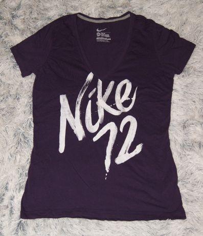 NIKE koszulka fioletowa nadruk r. XL/42