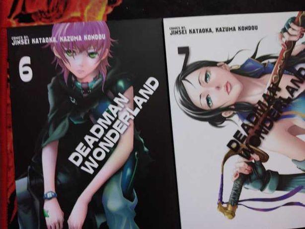 deadman wonderland tom 6,7 manga