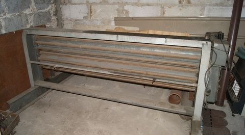 Maszyna do falowania blachy