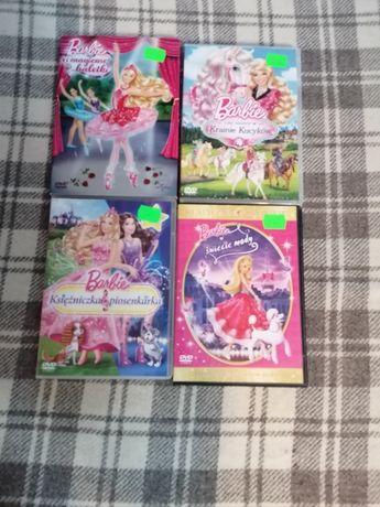 Barbie bajki 4 płyty