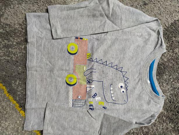 Bluzka koszulka z długim rękawem chłopięca 98