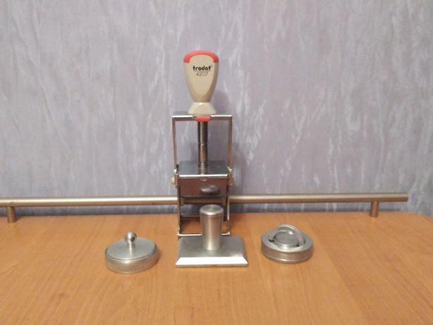 Железная автоматическая оснастка для печати Trodat.