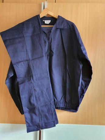 Ubranie robocze J Nuttall& CO XL granatowy