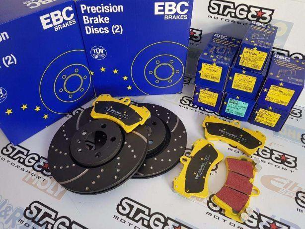 Discos, Calços EBC Yellowstuff BMW E81,E82,E87,E88,E90,E91,E92