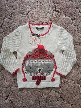 Нарядный свитерок для девочки (свитер, джемпер) George