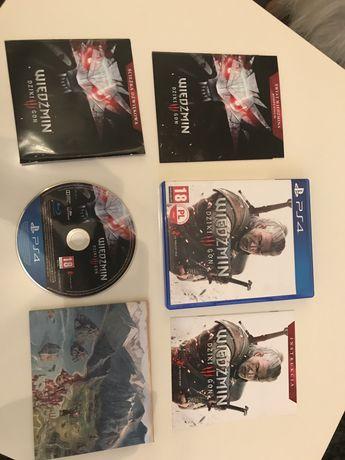 Wiedźmin 3 Dziki Goń PS4 - najtaniej na olx!