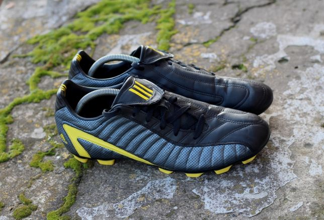 Копачки Adidas F 10 TRX FG Scarpini Calcio Neri Pelle. Оригінал 45р