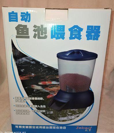 Karmnik automatyczny do oczka wodnego, stawu; NOWE