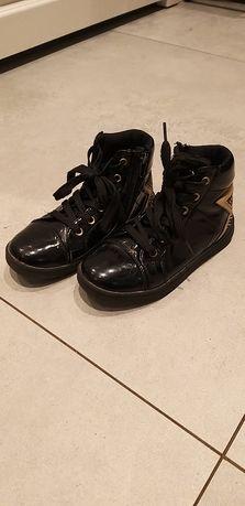 Buty dziecięce jesienno wiosenne rozmiar 31 czarne