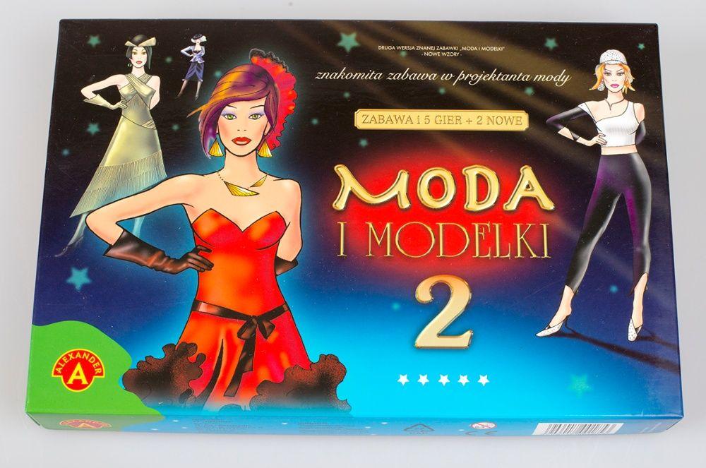 Moda i Modelki 2 gra układanka dziewczynki Alexander Warszawa - image 1