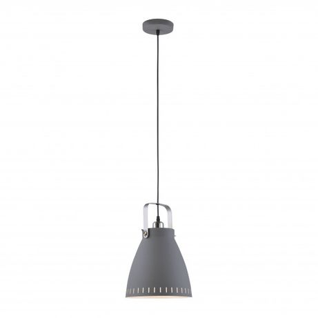 LOFT Szara lampa EVA wisząca Leuchten Direkt E27 OUTLET