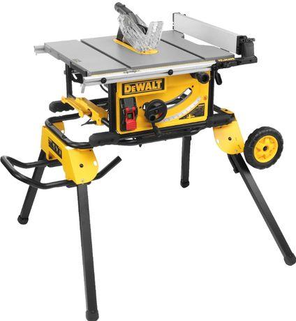 Promocja Dewalt DWE7492 + DE74911 pilarka stołowa+stanowisko robocze