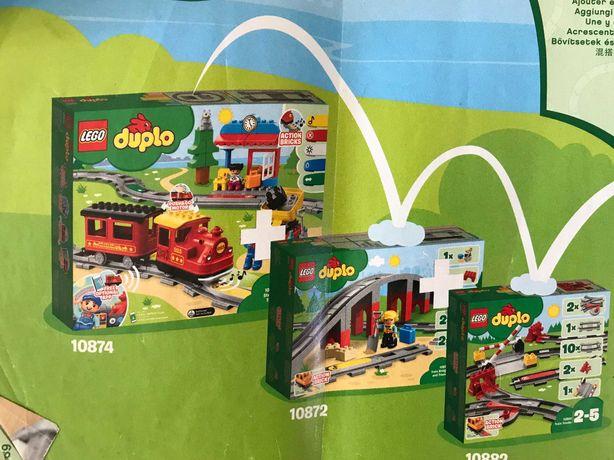 Conjunto de Comboios Lego Duplo Completo