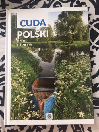 Książka album fotobook foto cuda Polski rzeki jeziora przewodnik