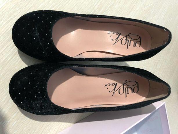 жіночі туфлі - 36 розмір, чорні