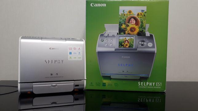 Принтер фото Canon SELPHY ES1и Картридж