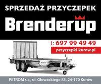 NOWA BRENDERUP MT3651 DMC 3500kg przyczepa