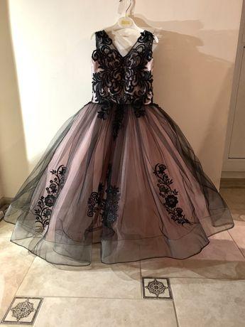 Шикарное выпусткное нарядное бальное платье пышное для принцессы