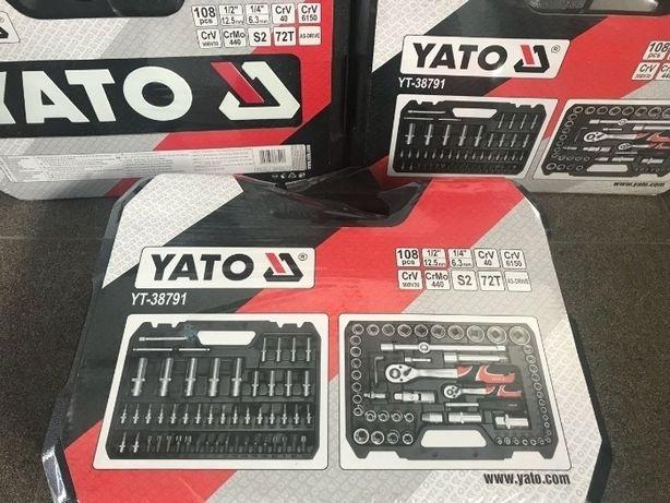 Набор инструмента YATO 108 (38791) 108 шт. Актуальна ціна! Оригинал!