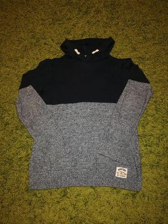Bluza z kapturem, sweter H&M roz 146-152