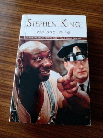 Stephen King Zielona Mila książka