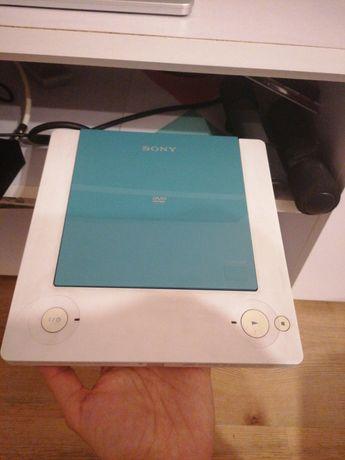 Odtwarzacz cd/dvd Sony biały mały