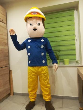 STRAŻAK SAM Chodząca żywa duża maskotka Kostium reklamowy