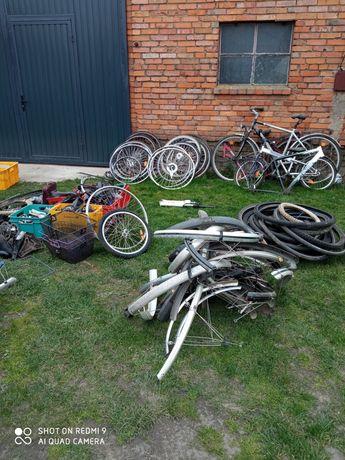 Części rowerowe .