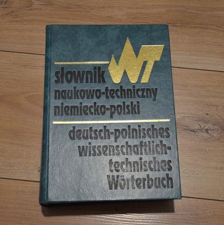 Słownik Naukow0-Techniczny Niemiecko-Polski WNT 1994