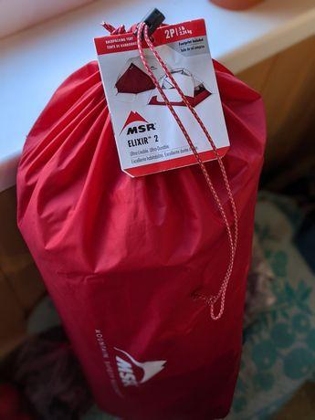 Лёгкая палатка MSR Elixir 2, новая, запакованая