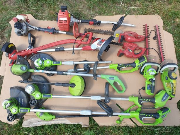 Podkaszarka nożyce do żywopłotu Greenworks Meec tools