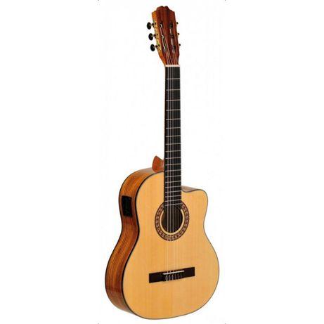 Ever Play Taiki Zebrano 4/4 CEQ Gitara elektroklasyczna