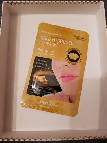 Nawilzajaca maseczka hydrozelowa na usta MBeauty Gold Hydrogel