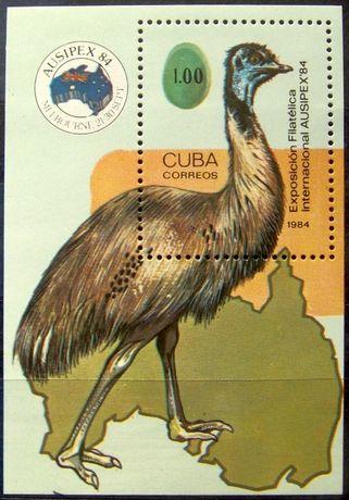 Znaczki Kuba 1984 - 85 stan** całe serie