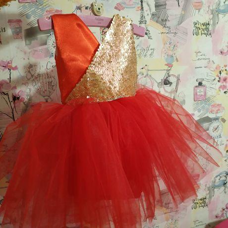 Новое! В наличии детское нарядное пышное праздничное платье на годик