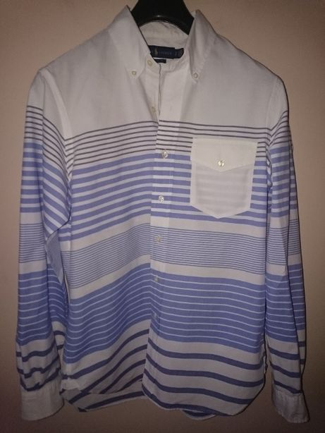 Красивая рубашка Ralph Lauren. Приталенный крой. Идеал, как новая. 46р