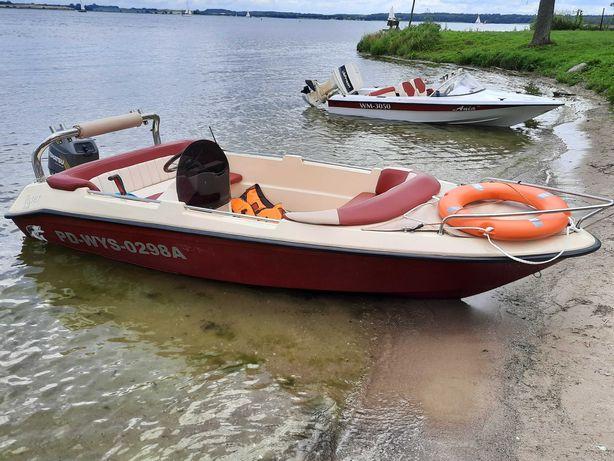 łódź wędkarsko-turystyczna5-osob.Kruger Laser Exlusive +silnik+przycz.