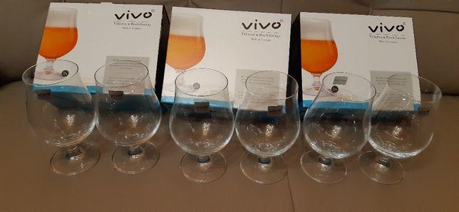 pokale szklanki 6szt.do piwa model cy0578