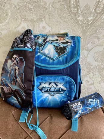 Набір: Рюкзак Kite Max Steel+пенал+сумка