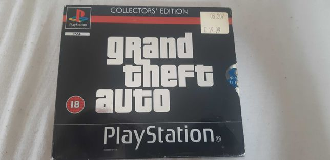 Grand theft auto collector edition ps one psx ps1