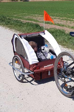 przyczepka dla dziecka do roweru