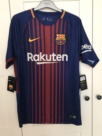 Barcelona. Nowa koszulka meczowa (s)
