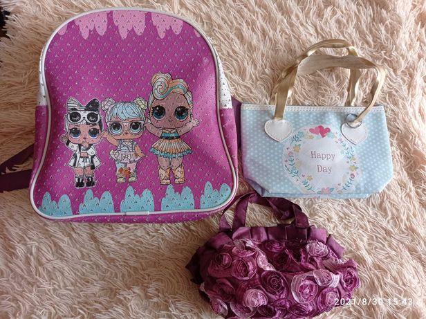 Сумочки рюкзачки для дівчинки для девочки