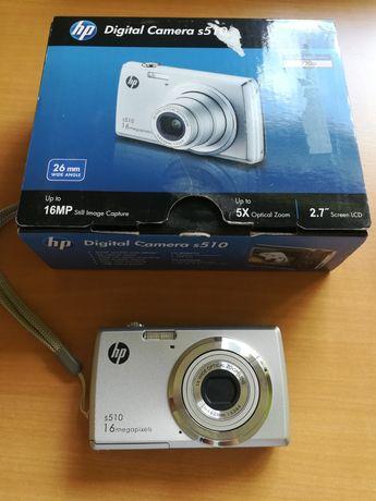 Vendo Câmera Fotográfica HP s510