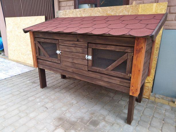 klatka dla krolików,drewniana