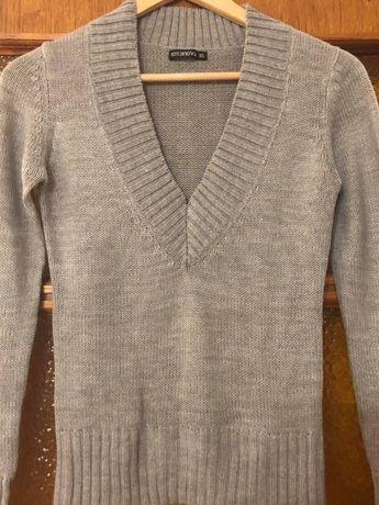 Кофта свитер полувер фирменный Terranova XS