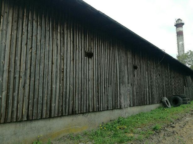 Stare drewno drewniany budynek